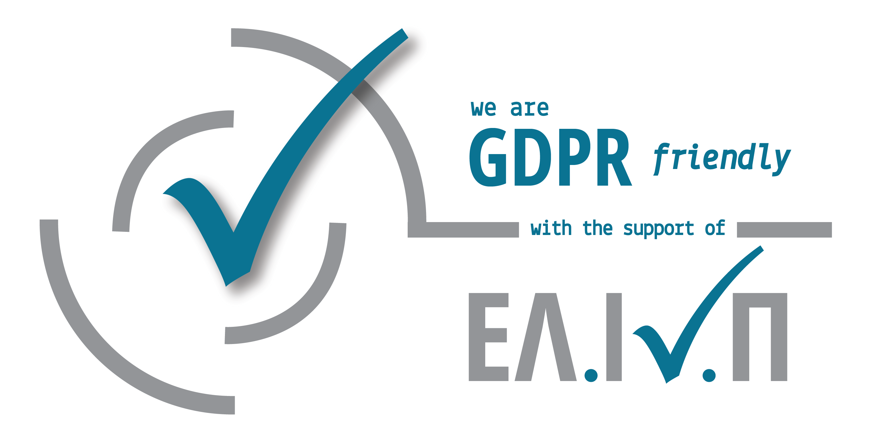 GDPR FRIENDLY LOGO